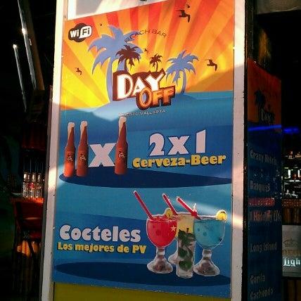 Foto diambil di Day Off Beach Bar oleh Luis S. pada 7/27/2012