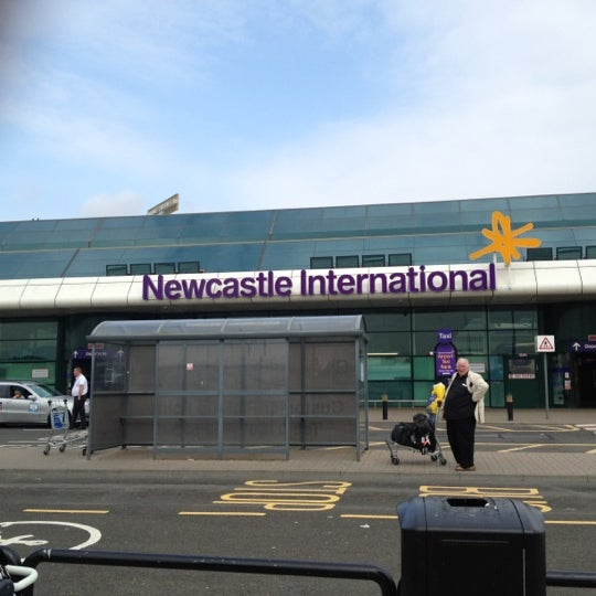 8/11/2012にDavid D.がNewcastle International Airportで撮った写真