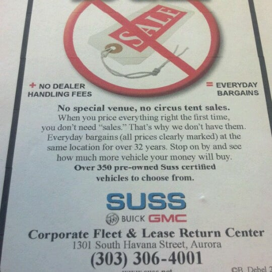 Suss Buick Gmc >> Photos At Suss Buick Gmc Now Closed Auto Dealership