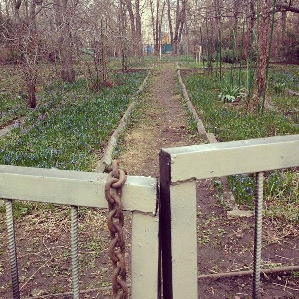 Das Foto wurde bei Сад им. П. И. Травникова von konstantin z. am 4/21/2012 aufgenommen
