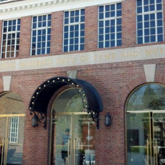 5/12/2012 tarihinde Paul V.ziyaretçi tarafından National Baseball Hall of Fame and Museum'de çekilen fotoğraf