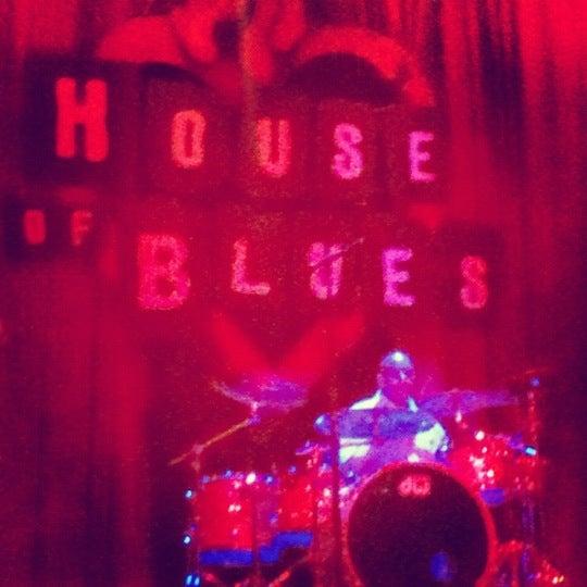 5/27/2012 tarihinde Athenae A.ziyaretçi tarafından House of Blues'de çekilen fotoğraf