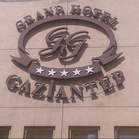 Photo prise au Grand Hotel Gaziantep par Burak K. le9/12/2012
