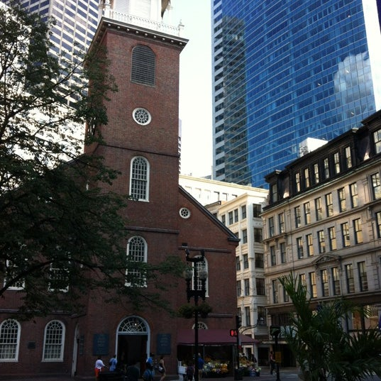 7/14/2012 tarihinde Andrew W.ziyaretçi tarafından Old South Meeting House'de çekilen fotoğraf