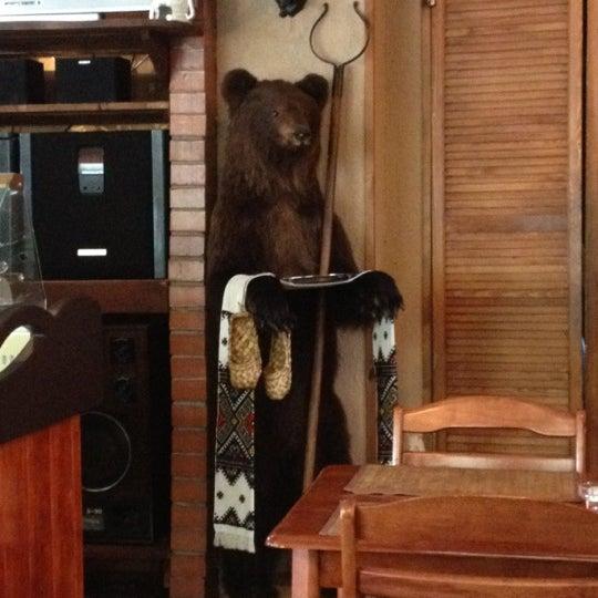 той фото абой с рисунка медведь для кафе хороший способ