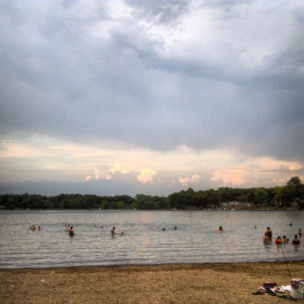 Portage Lake Swim & Beach Area (Waterloo State Rec  Area