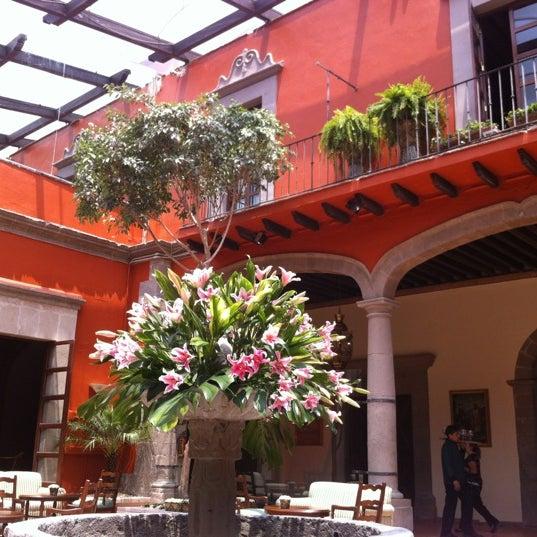 4/17/2012 tarihinde Paco S.ziyaretçi tarafından Hacienda de Los Morales'de çekilen fotoğraf