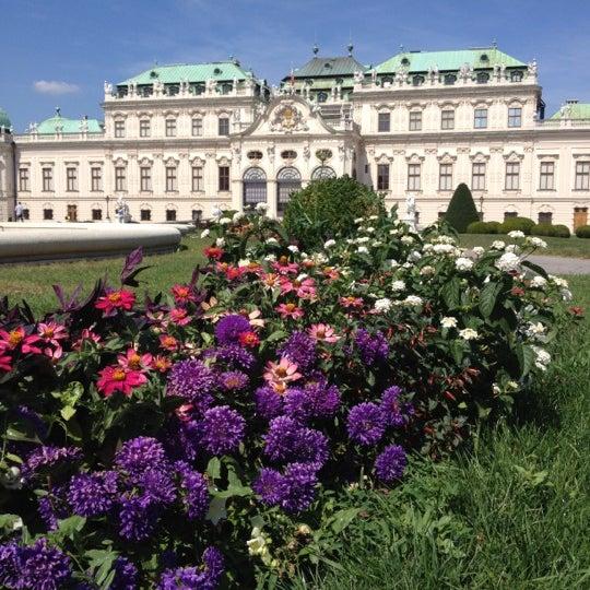 8/18/2012 tarihinde Olga B.ziyaretçi tarafından Oberes Belvedere'de çekilen fotoğraf