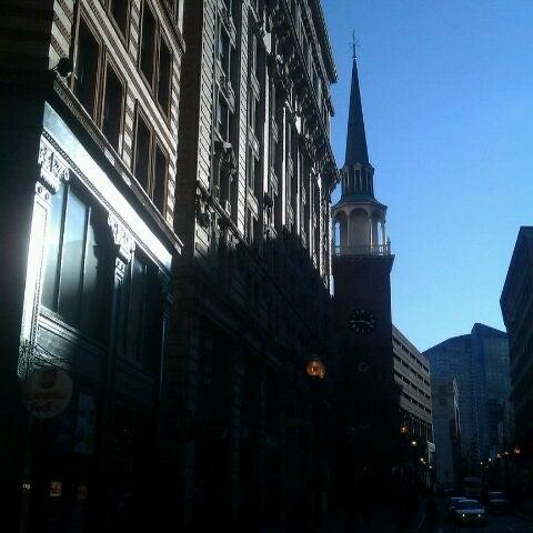 2/23/2012にWhitney K.がOld South Meeting Houseで撮った写真