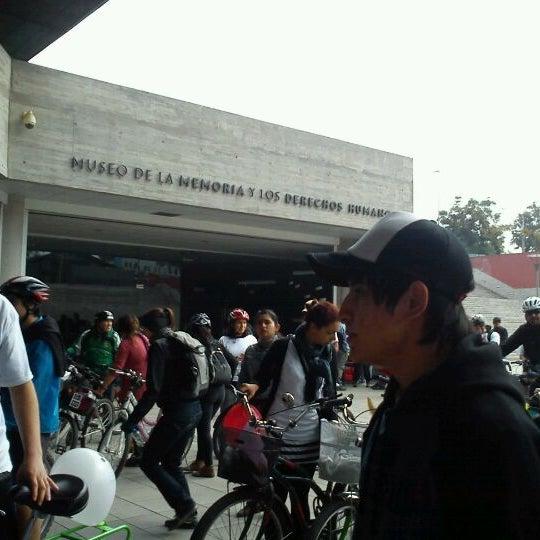 5/13/2012にTere L.がMuseo de la Memoria y los Derechos Humanosで撮った写真
