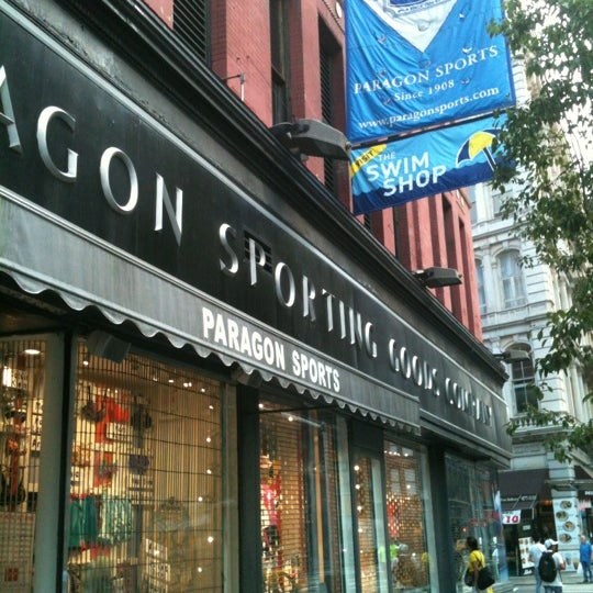 Paragon Sports - Sporting Goods Shop in Union Square