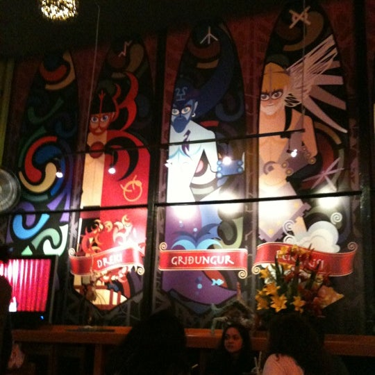Das Foto wurde bei Viking - Arte Café Punto Zero von Kikis L. am 6/23/2012 aufgenommen