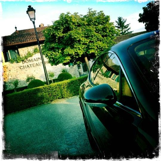 Foto tirada no(a) Domaine de Châteauvieux por Pascal M. em 5/26/2012