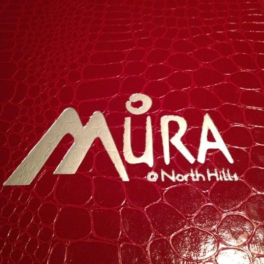 Das Foto wurde bei Mura Japanese Restaurant von Cindy N. am 5/14/2012 aufgenommen