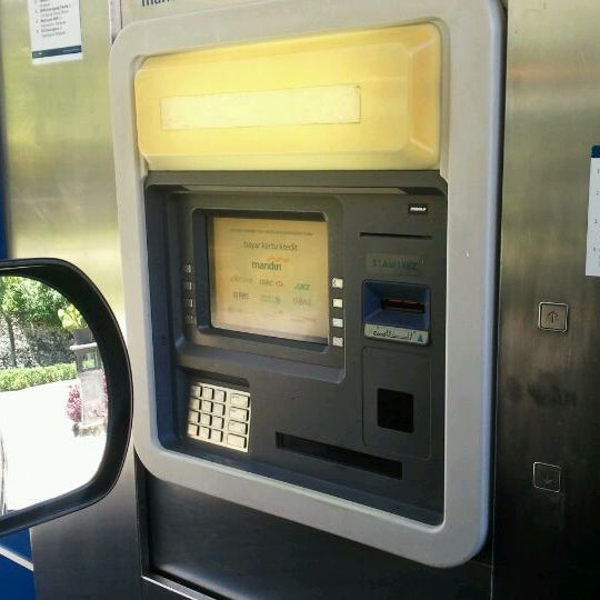 Photos At Atm Mandiri Drive Thru Bank