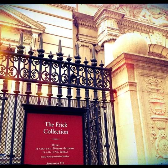8/26/2012 tarihinde Sophia B.ziyaretçi tarafından The Frick Collection'de çekilen fotoğraf