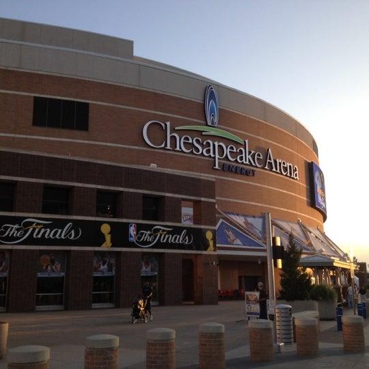 Das Foto wurde bei Chesapeake Energy Arena von UrbanGM (David B.) am 6/14/2012 aufgenommen