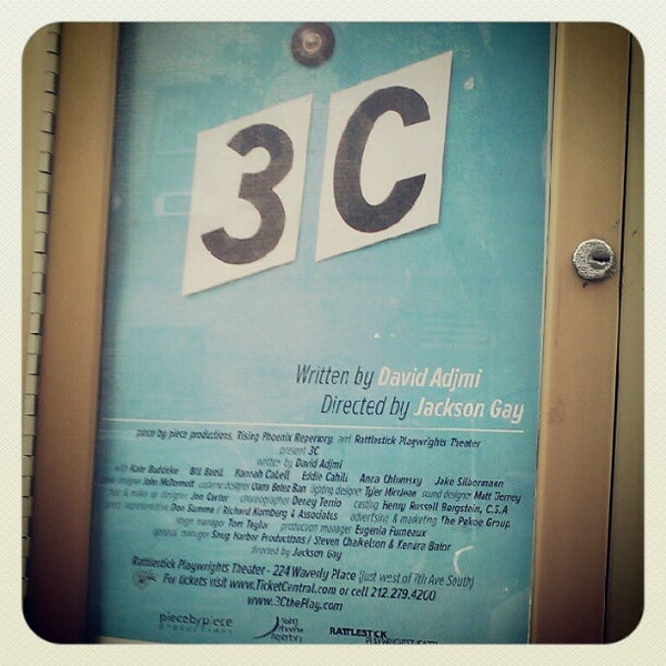 6/11/2012にCasey B.がRattlestick Playwrights Theaterで撮った写真