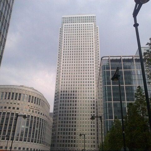 Foto scattata a Canary Wharf da Michael R. il 7/27/2012