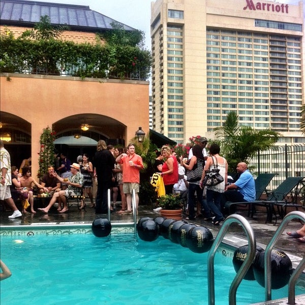 Photos At Hotel Monteleone Rooftop Pool Patio French Quarter 5