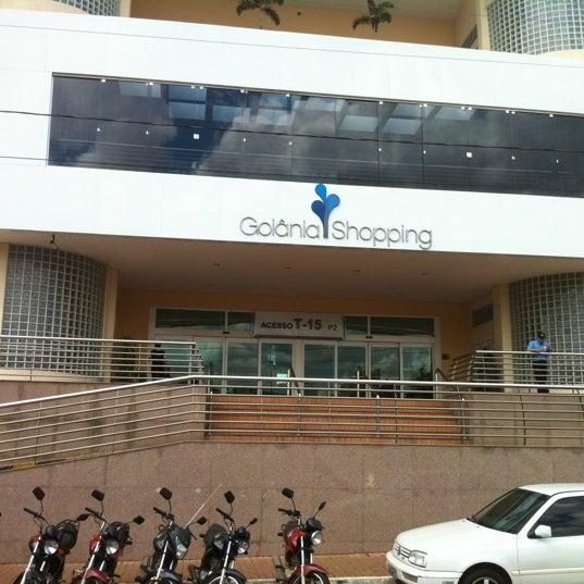3/20/2012 tarihinde Ramon P.ziyaretçi tarafından Goiânia Shopping'de çekilen fotoğraf