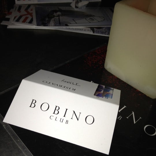 รูปภาพถ่ายที่ Bobino Club โดย Simona S. เมื่อ 3/22/2012