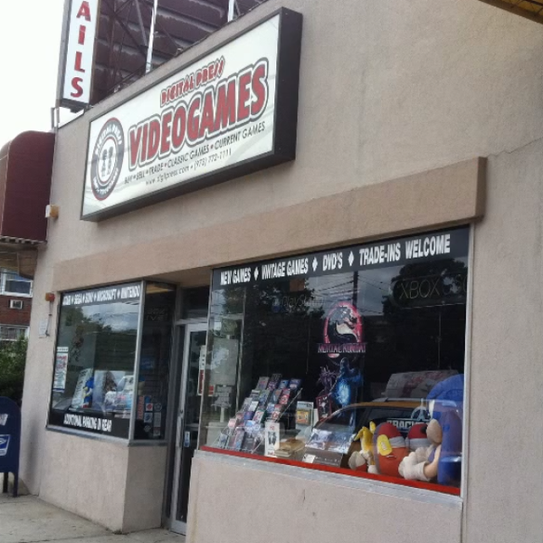 Digital Press Video Games - Video Game Store in Clifton