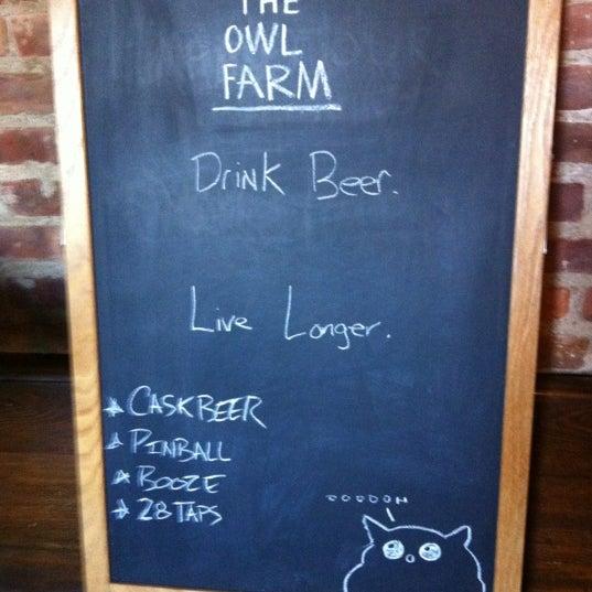 8/26/2012에 Brett S.님이 The Owl Farm에서 찍은 사진
