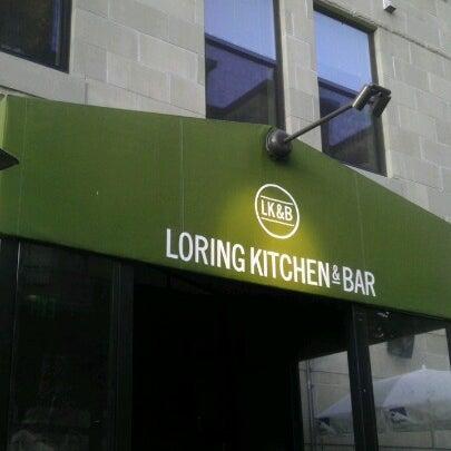 7/10/2012에 JAYSON D.님이 Loring Kitchen and Bar에서 찍은 사진