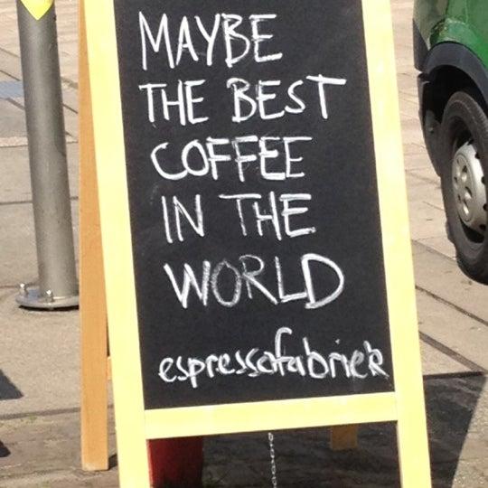 Foto scattata a Espressofabriek da Jeroen T. il 6/14/2012