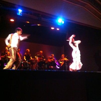 Снимок сделан в Palacio del Flamenco пользователем Andrea S. 8/2/2012