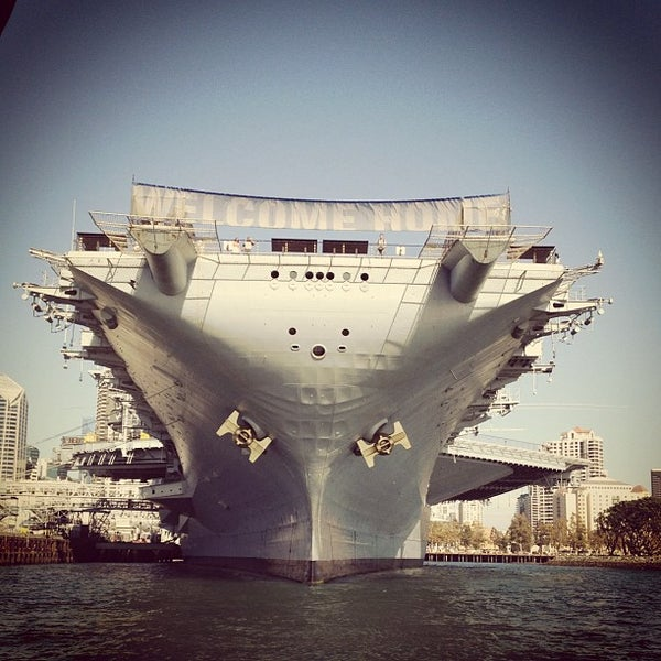 Photo taken at USS Midway Museum by angela l. on 9/3/2012
