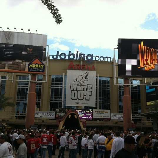 Photo prise au Gila River Arena par Will B. le4/15/2012