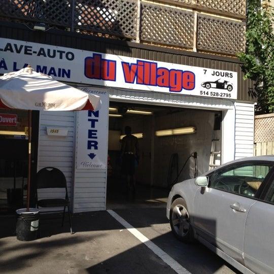 Motor Village La >> Photos At Lave Auto Du Village A La Main Ville Marie 2