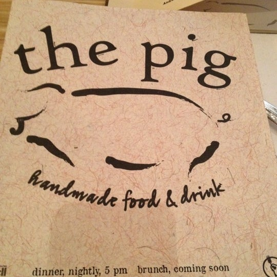 Снимок сделан в The Pig пользователем Shana G. 6/9/2012