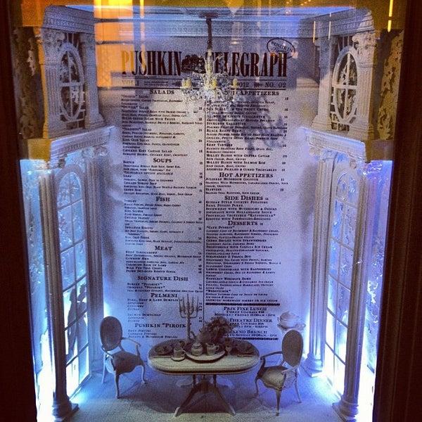Foto tomada en Brasserie Pushkin por Alex M. el 6/16/2012