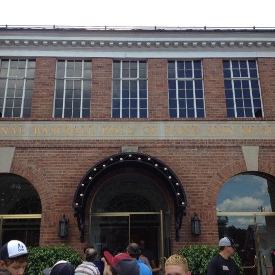 8/16/2012 tarihinde Francisco M.ziyaretçi tarafından National Baseball Hall of Fame and Museum'de çekilen fotoğraf