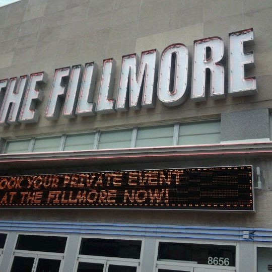 Photo prise au The Fillmore par Dan S. le6/13/2012