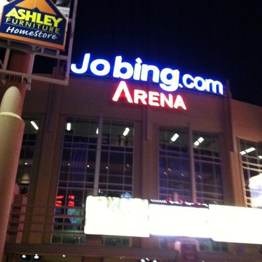 Снимок сделан в Gila River Arena пользователем Ann Marie C. 3/16/2012