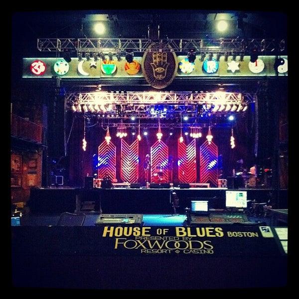 Foto diambil di House of Blues oleh Clayton T. pada 8/9/2012