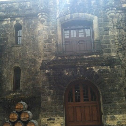 Снимок сделан в Chateau Montelena пользователем Aida 2/26/2012