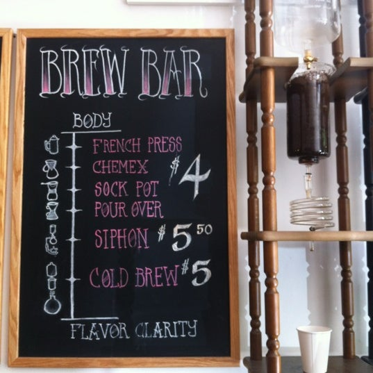 Photo prise au WTF Coffee Lab par Jackie B. le6/23/2012