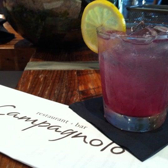 Das Foto wurde bei Campagnolo Restaurant + Bar von Dzimm A. am 8/18/2012 aufgenommen