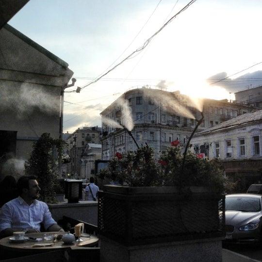 Снимок сделан в Кофемания пользователем Konstantin 7/4/2012