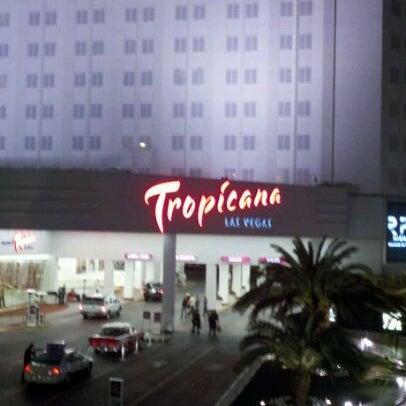 Снимок сделан в Tropicana Las Vegas пользователем Amanda S. 2/27/2012