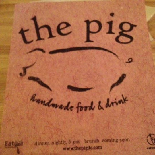 Снимок сделан в The Pig пользователем Phil M. 6/16/2012