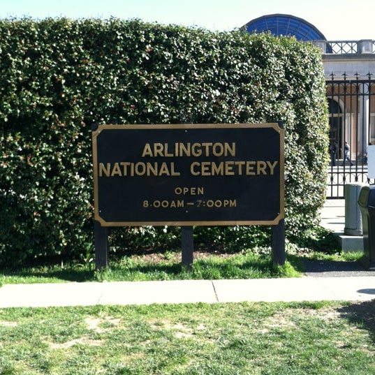 Photo prise au Arlington National Cemetery par Kristopher V. le4/7/2012