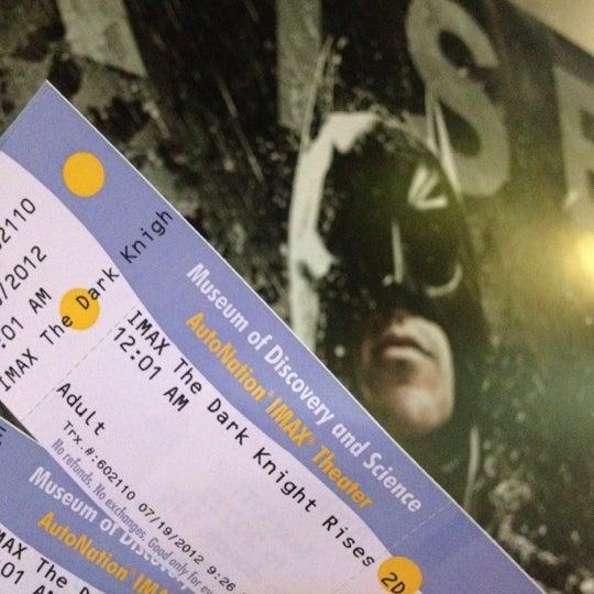 Photo prise au Autonation IMAX 3D Theater par William L. le7/20/2012