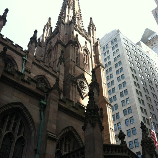 Photo prise au Trinity Church par Alex F. le3/18/2012