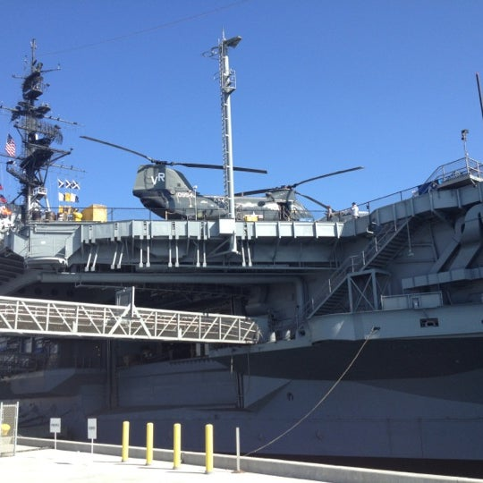 Photo taken at USS Midway Museum by Akore K. on 8/31/2012